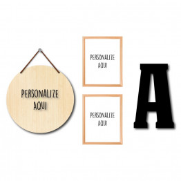 Kit - Personalize (4 Itens)