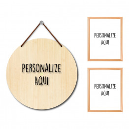 Kit - Personalize (3 Itens)